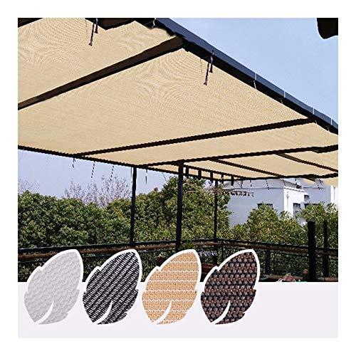 Sombra de Malla Solar, Bloqueador Solar Tela de Sombra Borde Grabado con...