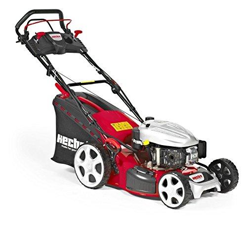 Preisvergleich Produktbild HECHT Benzin-Rasenmäher 5484 SXE Benzin-Mäher mit Elektro-Start Funktion (3, 7 kW (5, 0 PS),  Schnittbreite 46 cm,  60 Liter Fangkorbvolumen,  7-fache Schnitthöhenverstellung 25-75 mm,  Radantrieb)