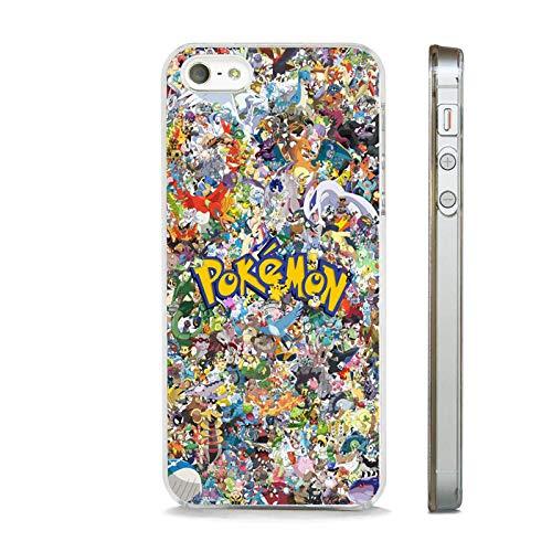 Coque transparente pour Apple iPhone 6 Plus/6S Plus Motif dessin animé Pokémon