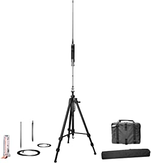 Super Antenna MP1LX Tripod HF Portable All Band Vertical Antenna SuperWhip with Go Bags ham Radio Amateur