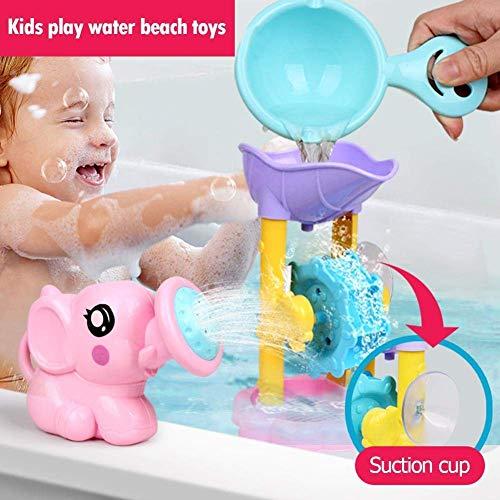 Kids Play Water Beach Toy Salle de bain Douche Interactive Head 3 Piece Set couleur aléatoire