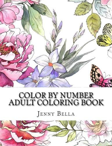 Color By Number Adult Coloring Book Eas Buy Online In Botswana At Desertcart