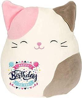 Limited Edition! Happy Birthday Squishmallow Pre-Customized for Birthday Original Kellytoy 8