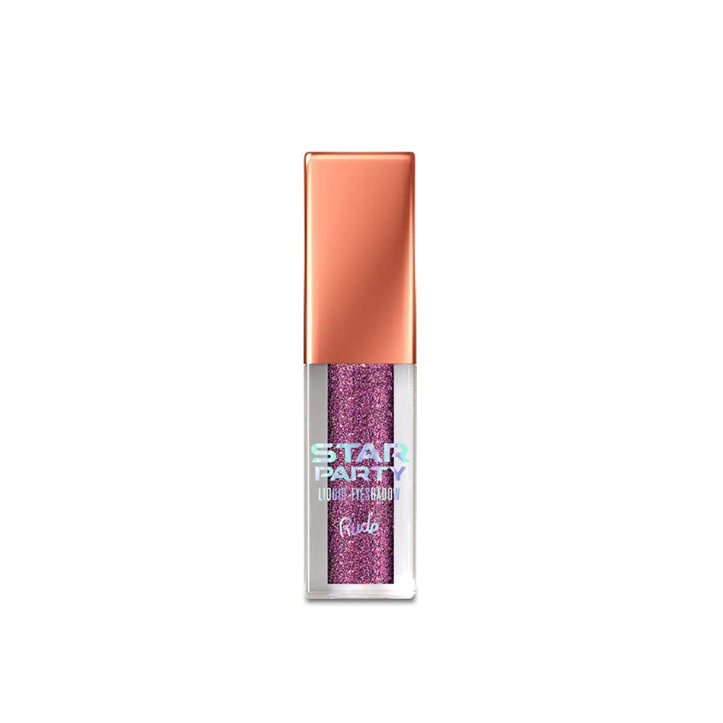解任そんなに漂流(6 Pack) RUDE Star Party Liquid Eyeshadow - She's a Star (並行輸入品)