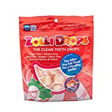 Zollipops Clean Teeth Zolli Drops - Anti Cavity, Sugar Free Mints with Xylitol for a Healthy Smile - Great for Kids, Diabetics and Keto Diet (1.6oz, Peppermint)