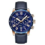 BENYAR Moda Cronógrafo Deporte Relojes para Hombre Marca de Lujo de Lujo a Prueba de Agua Reloj de Cuarzo Militar Reloj Relogio Masculino (A)