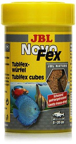 JBL NovoFex 100ml - Cubes de tubifex - Friandises pour poissons d'aquarium