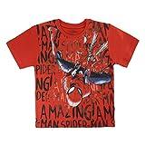 Spiderman S0713675 Camiseta, Rojo, 2 años Unisex niños