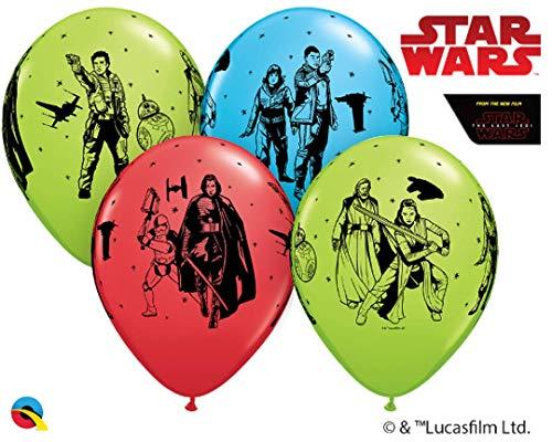 Prezer 10 Luftballons Star Wars Die letzten Jedi 26cm