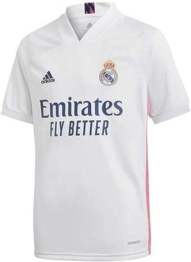 adidas Real Madrid Temporada 2020/21 Camiseta Primera Equipación Oficial Camiseta Primera Equipación Oficial Niños