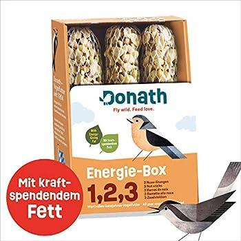 Donath Boîte à Énergie 1,2,3 Oiseaux Sauvages Nourriture 360 g