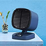 DFVBD Persönlicher Mini Space Heater tragbare elektrische Heizgeräte Ventilator mit...