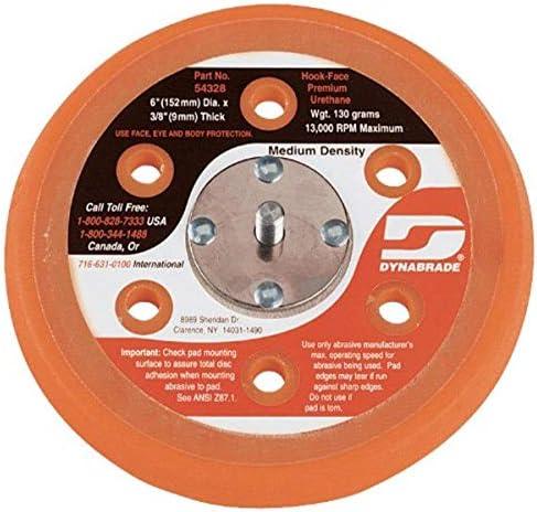 Dynabrade 54328 6 Inch Hook Face Short Nap Vacuum Disc Pad product image