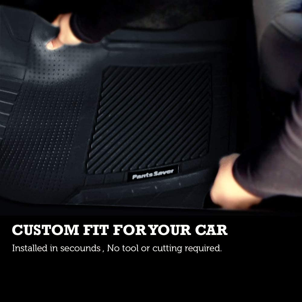 SUV Heavy Duty Total Protection Tan Trucks Van PantsSaver Custom Fit Automotive Floor Mats for Honda HR-V 2020 All Weather Protection for Cars