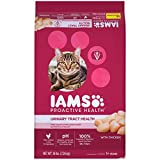 IAMS PROACTIVE HEALTH Adult Urinary Tract Health Dry Cat Food, with Chicken, 16 Pound Bag