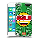 Official emoji Goal Football Soft Gel Case Compatible for Apple iPod Touch 5G 5th Gen