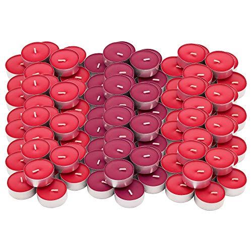 Ikea - Set di 120 lumini Sinnlig al profumo di bacche rosse Rosso