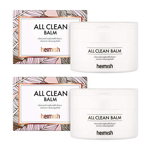 Heimish All Clean Cleansing Balm Bundle (120 ml / 4 oz, 2-Pack)