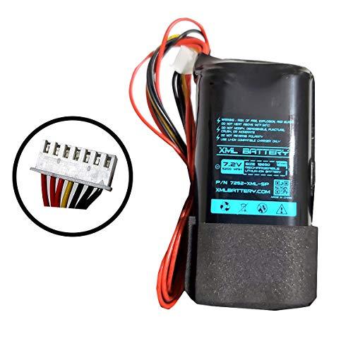 7.2v 5200mAh Li-Ion PCB-Protected Battery Pack Replacement for Marshall Kilburn II V2 Portable Wireless Bluetooth Speaker 7 Pin