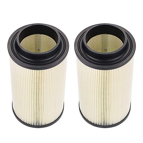 Tvent 7082101 Air Filter 7080595 5811633 Replacement for Polaris Sportsman 400 500 550 570 600 700 800 850 ATV Parts (Pack of 2)