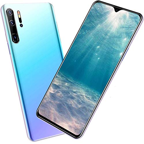 AYZE Smartphone 4G, entsperrt, 6,7 Zoll, Wassertropfenbildschirm, 13–24 MP-Kamera, 4 RAM, Handy mit erweitertem Speicher, 4800 mAh Akku, Telefon