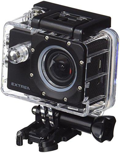 NIKKEI extremex2–Fotocamera, Wi-Fi, Risoluzione di 1280x 720Pixel, Batteria da 900mAh, 30fps, Colore: Nero