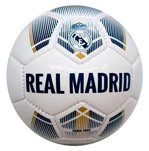 Real Madrid, Balón de Futbol Grande, Talla 5 Producto Ofici