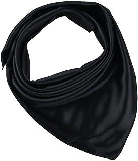 YiyiLai Women Solid Korean Square Scarf Headband Bandana Collar Shawl