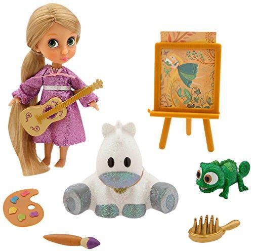 Disney Animators' Collection Rapunzel Mini Doll Play Set - 5 Inches