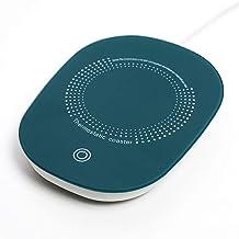 Bireegoo 1 dessous de verre chauffant USB pour tasse à café, chauffe-tasse portable pour le bureau, la maison, tasse non i...