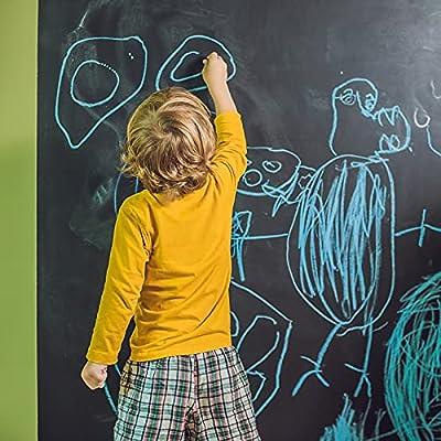 Pinkeyearn Chalkboard Wallpaper Self Adhesive V...
