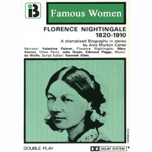 Florence Nightingale, 1820-1910 audiobook cover art