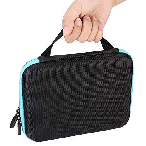 Organisateur d'huile essentielle de conception anti-crash, sac de stockage d'huile essentielle, portable pour voyager pour la maison(blue)