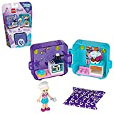LEGO Friends Stephanie's Play Cube 41401 Building Kit, with 1 Collectible Mini-Doll Toy Chef; Great for Creative Play, New 2020 (44 Pieces)