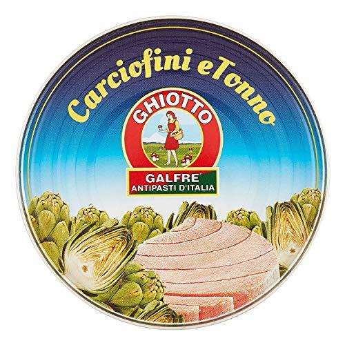 Galfrè Antipasti d'Italia - Spezialitäten - Thunfisch und Artischocken - Box gr. 160 - Italienisch Artisan Produkt