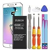 Galaxy S6 Edge Plus Battery ZURUN 3300mAh Li-Polymer Battery EB-BG928ABE Replacement for Samsung Galaxy S6 Edge Plus SM-G928 G928V G928A G928T G928P G928R4 with Screwdriver Tool Kit [2 Year Warranty]