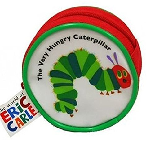 The Very Hungry Caterpillar VHCOO4001, Kinder-Geldbörse Rot/Weiß/Grün
