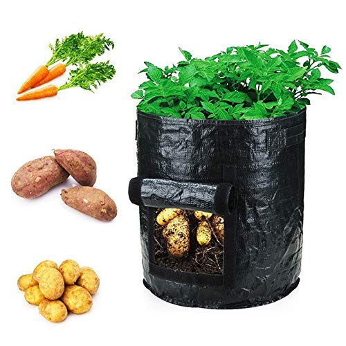 Preisvergleich Produktbild 10 Gallonen Pflanzkartoffel wachsen Taschen,  Gemüse Pflanzgefäß Container Kartoffel wachsen Taschen pflanzen wachsen