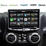 Stinger - Jeep Wrangler JK (2011-2018) Stereo Replacement System: 10-Inch Touchscreen Radio with...