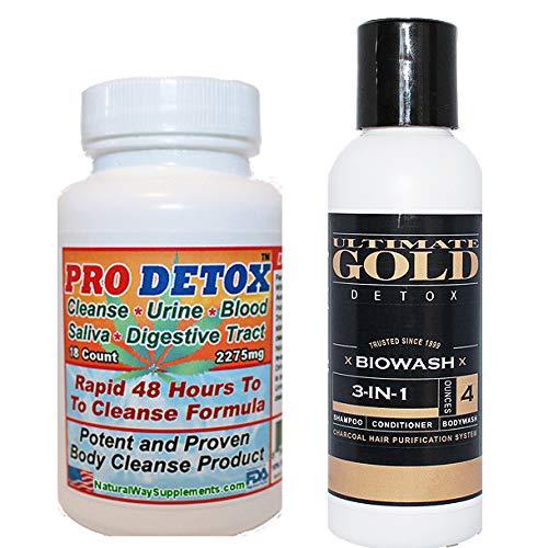 Bundle - PRO THC DETOX and Detox Hair Shampoo