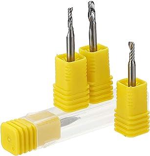 CCChaRLes 1/8 Pouce Tige Simple Cannelure Fraise 1-3.17Mm Tungstène Acier Pcb Gravure Outil Cnc - 2,5mm