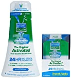 SmartMouth Original Activated Oral Rinse and Box of Travel Packs