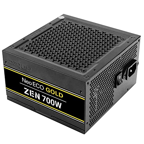 Antec 700W NeoECO Gold ZEN PSU Totalmente Cableado LLC Design 80+ Gold Cont. Power