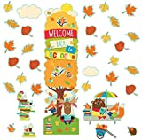 Berwick Eureka Fall Back to School Classroom and Door DÃcor Kit, 33pc All-in-One, 33 Piece