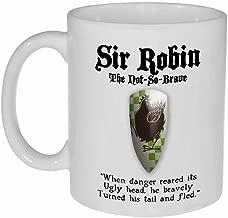 Monty Python and the Holy Grail Sir Robin - coffee or tea mug