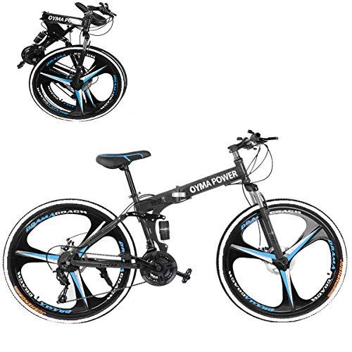 Hua 26 Inch Folding Mountain Bike with 21 Speed | Adults...