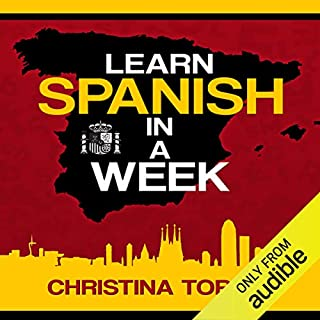 Learn Spanish in a Week audiobook cover art