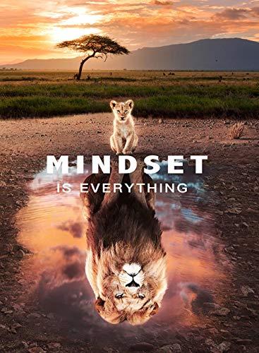 YWOHP Animal Inspirador Lienzo Pintura Gran león en la mentalidad Arte de Pared póster impresión Mural Sala de Estar hogar Cuadros-20X30cm