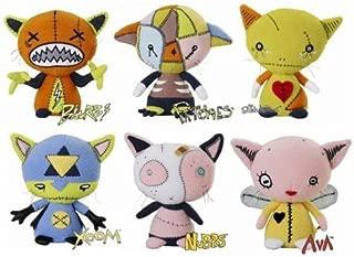 Gus Fink's Set of 6 Stitch Kitten Plush Figures by Rocket USA