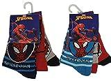 Marvel Spider-Man Bas pour enfants, chaussettes colorées en paquet de 6 pour garçons (31/34)
